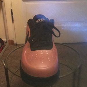 Nike Shoes - Pink Air Force ones